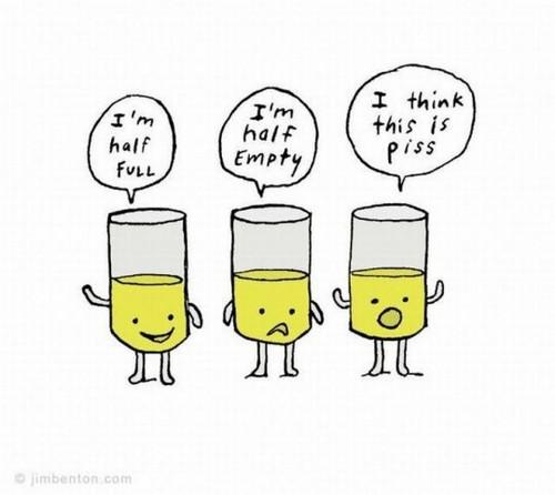 optimis pesimis atau realistis